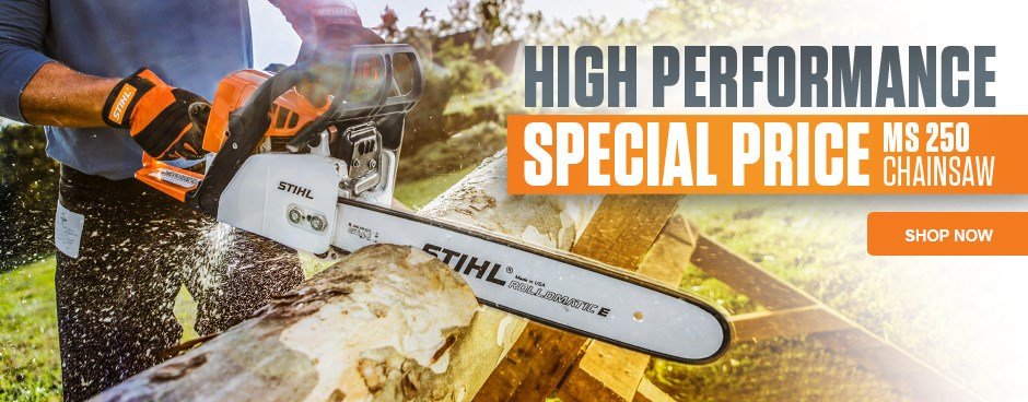 Save Now on the MS 250 Chainsaw!